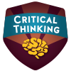 Badge Critical Thinking